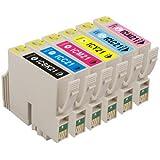 エプソン IC6CL21 6色セット【互換インクカートリッジ】【ICチップ有】EPSON IC21-6CL-SET【インク】