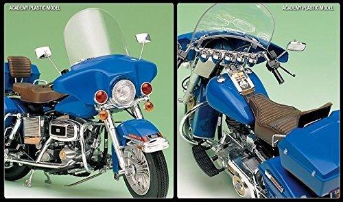 Academy 1/10 Plastic Model Kit Harley Davidson Classic Motorcycle 15501 NIB /item# G4W8B-48Q55147