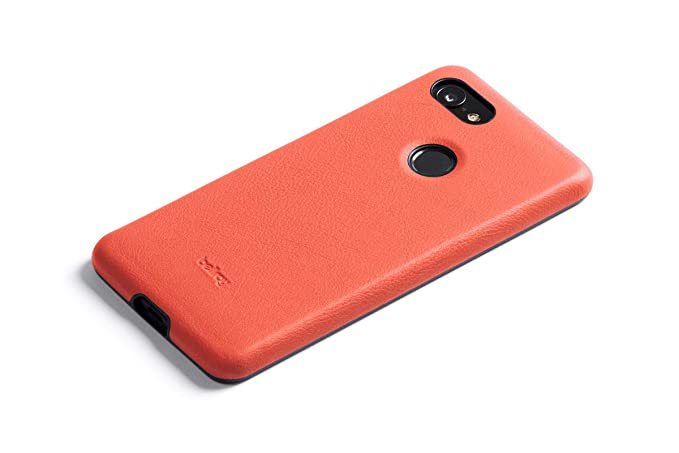 check out 48359 0d912 Bellroy Leather Case for Pixel 3 - Coral