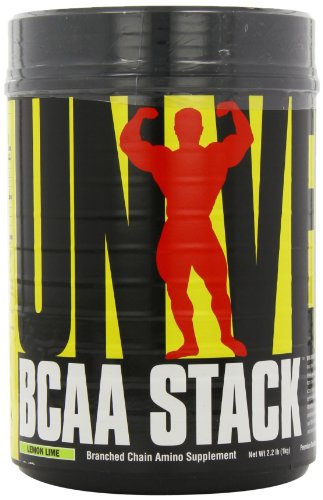 Universal Nutrition BCAA Stack – Branched Chain Amino Acids with Glutamine, Lemon Lime