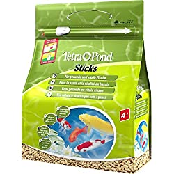 4l Tetra Pond Sticks Fish Food