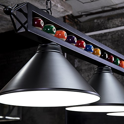 """Chende 59"""" Hanging Pool Table Light Fixture For Game Room"""