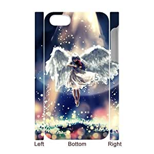 LZHCASE Diy 3D Protection Hard Case Fantasy Angel For Iphone 5C [Pattern-1]