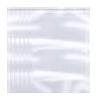 Meets USDA FDA Standards The Elixir Packaging 100 Count 8 x 10 Clear Reclosable Poly Bag