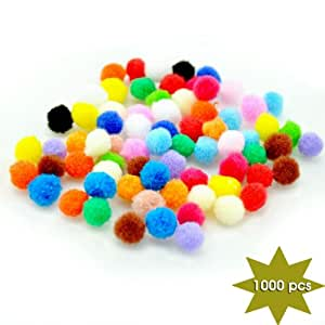 YazyCraft Mini Pompoms 1000 pcs