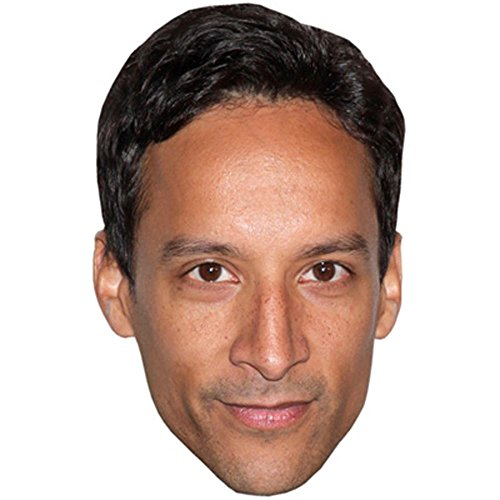Danny Pudi Celebrity Mask, Card Face and Fancy Dress Mask