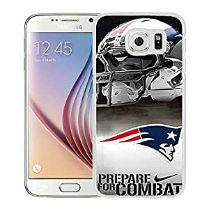 Unique Samsung Galaxy S6 Screen Case ,Popular And Durable Designed Case With England Patriots White For Samsung Galaxy S6 Phone Case Great Quality Cover Case