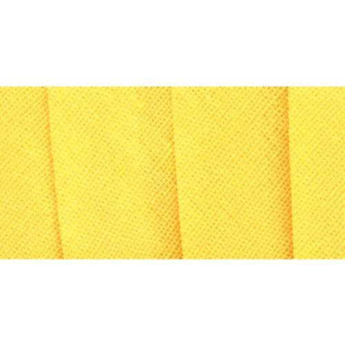 - Wrights 117-206-086 Extra Wide Double Fold Bias Tape, Canary, 3-Yard