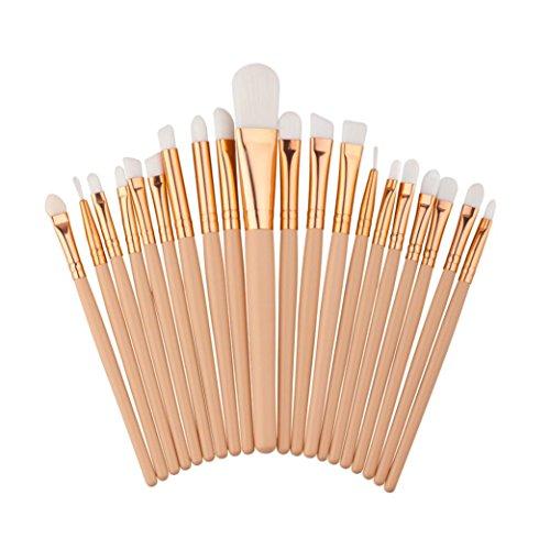 tenworld-20pcs-make-up-foundation-eyebrow-eyeliner-blush-cosmetic-concealer-brushes-white