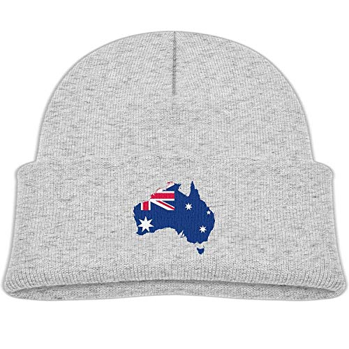 - gidmeons Fashion Australia-Flag-Map Printed Toddlers Baby Winter Hat Beanie