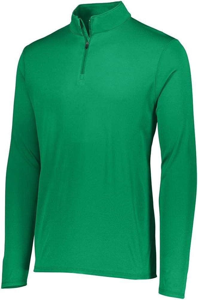 Pack of 3 Augusta Sports Mens Attain 1//4 Zip Pullover