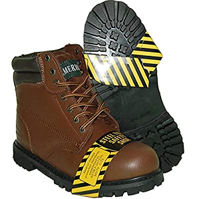 Krazy American Steel Toe Leather 6 Inch Men's Brown Boot | Industrial & Construction Boots