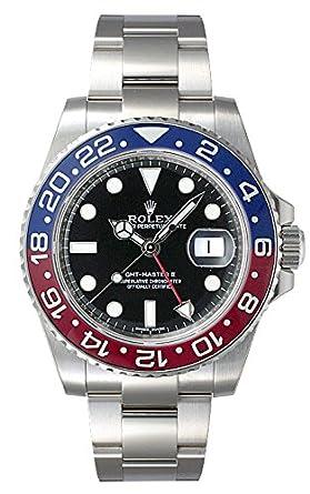 new concept 74cd5 d9ace Amazon   (ロレックス) ROLEX 腕時計 GMTマスターII 116719BLRO ...