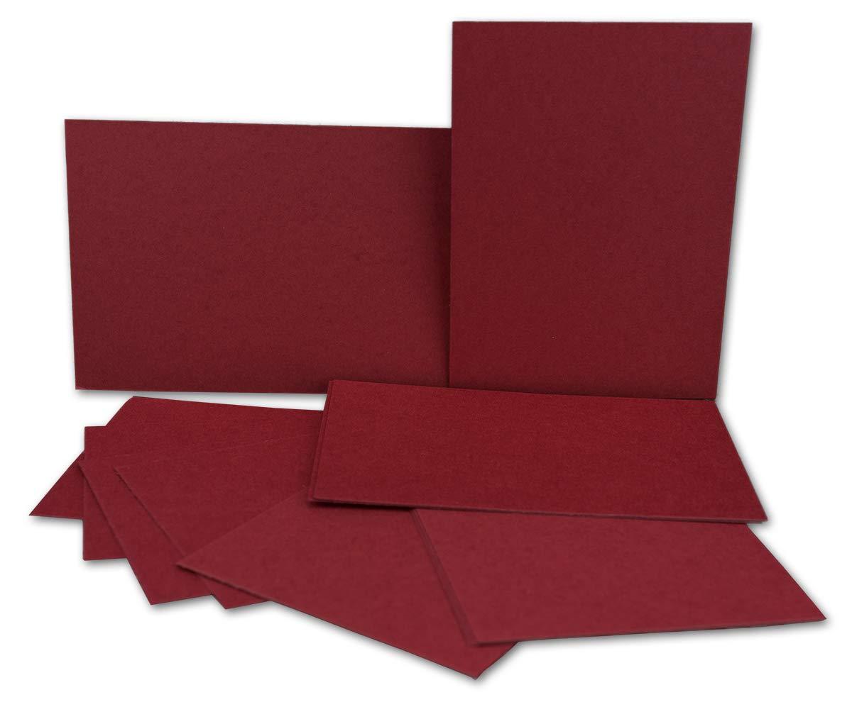 200x Stück Karte-Umschlag-Set Einzel-Karten Din A7 10,5x7,3 10,5x7,3 10,5x7,3 cm 240 g m² Dunkelgrün mit Brief-Umschlägen C7 Nassklebung ideale Geschenkanhänger B07M7CHCZD Grukarten Großer Verkauf f51472