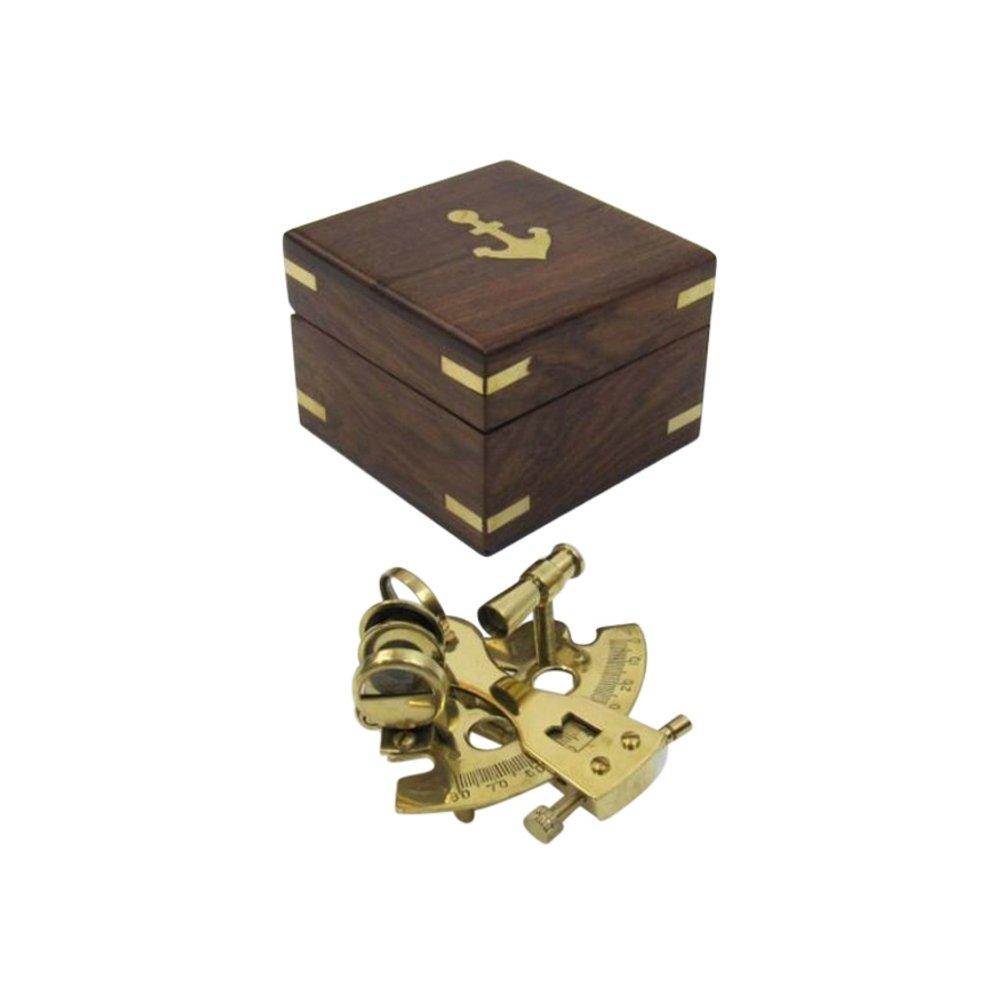 輝い ソリッド真鍮Small六分儀 – – 航海の装飾 B01457T2DO, Grandeir:8c936872 --- arcego.dominiotemporario.com