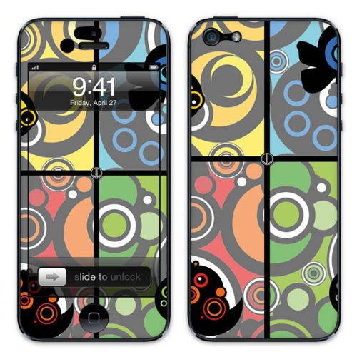 Diabloskinz B0081-0005-0011 Vinyl Skin für Apple iPhone 5/5S Wonderland