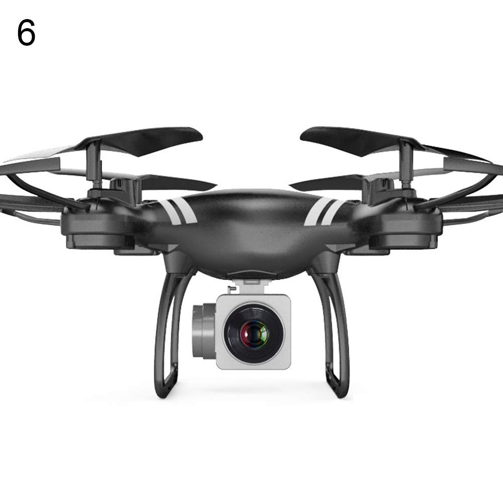 mAjglgE Adjustable WiFi Altitude Hold FPV Real Time with Camera RC Quadcopter Helicopter - Black with Camera#