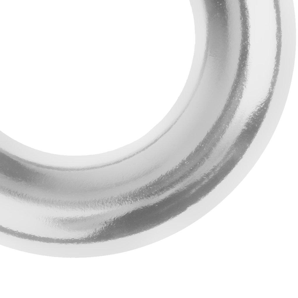 rettungen/ /Aparejo Equipo de Alto de Llamas Aluminio para Outdoor aufsteigen Fuerte y Robusta Cuerda Anillos Desconocido 22/KN Escalada y R/ápel Ring