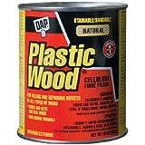 Dap 21506 Plastic Wood Filler, 16-Ounce