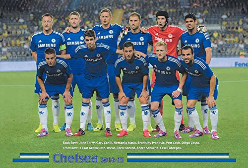 Chelsea F.C. 2014 - 2015 Football Soccer Sport Wall Decoration Poster 5002