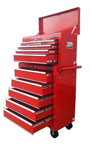 152 US PRO TOOLS asequible herramientas caja de herramientas con ruedas mueble cajonera: Amazon.es: Bricolaje y herramientas