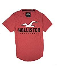 Mens Tee Graphic T-Shirt - V Neck - Crew Neck. Hollister