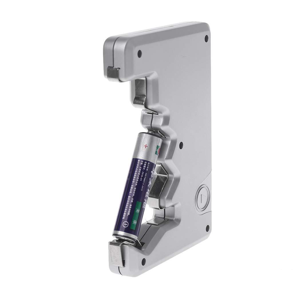 Tandou Comprobador de Pilas Digital para Bater/ías C y Bot/ón de 1.55V Battery Tester AA N 6F22 9V AAA D