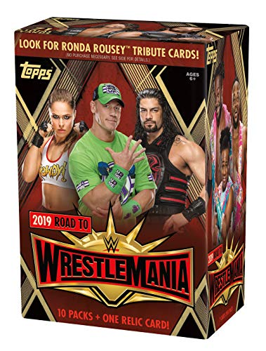 Topps 2019 WWE Road to Wrestlemania Value Box