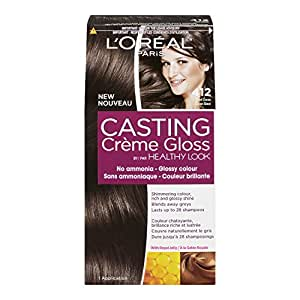 L'Oreal Paris Casting Crème Gloss By Healthy Look Haircolour, 412 Iced Cocoa