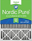 Nordic Pure 20x25x5HM13-1 20x25x5, MERV 13, Honeywell Replacement Air Filter, Box of 1, 5-Inch