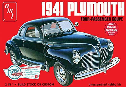 AMT 919/12 AMT 1/25 1941 Plymouth Coupe