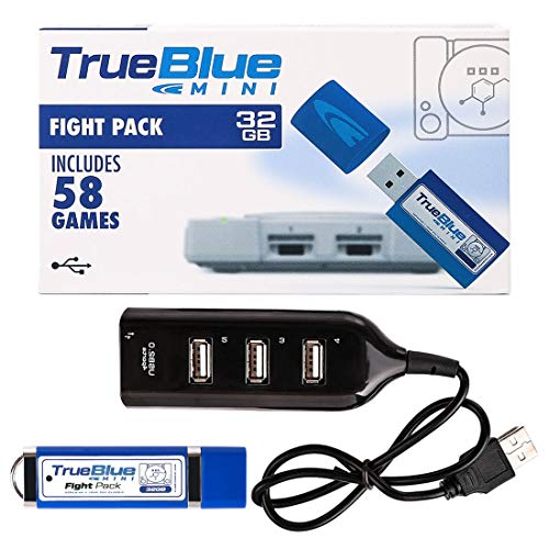 WOLFBUSH True Blue Mini Fight Pack (32 GB) for Playstation Classic Game Enhancer for Playstation Classic ()