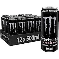 Monster Energy Ultra 12x 500ml Black