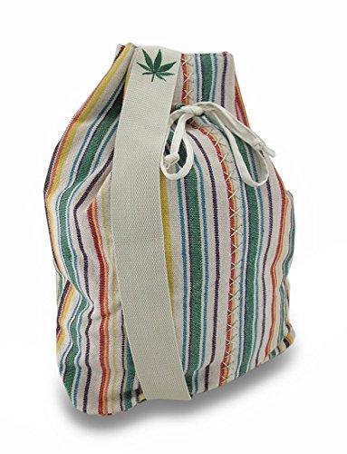 Zeckos, Borsa a spalla donna multicolore Tan
