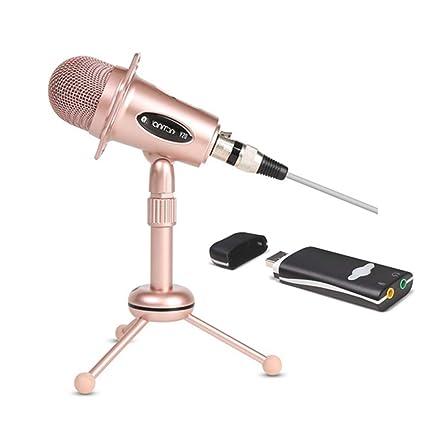 Home Microphone PC, 3 5Mm Plug, Desktop Microphone, Triangular Stand