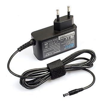 KFD Cargador Universal 12V 2A Adaptador Power Supply para Netgear, Western Digital, Reproductor Multimedia, Discos Duros Externos, Fax TFT & LCD ...