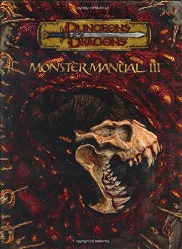 monster manual iii dungeons dragons d20 3 5 fantasy roleplaying rh amazon com monster manual 3e monster manual 3rd pdf