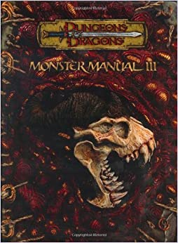 Written by Wizards Of The Coast: Monster Manual III (Dungeons ...