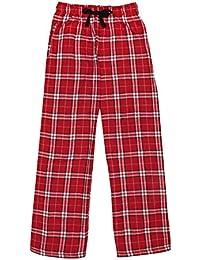 Ultra Soft Unisex Youth 100% Cotton Flannel Pants – Unisex Sizing
