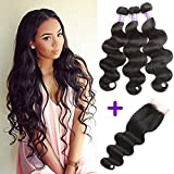 Best Hair Bundles With Free Parts - Brazilian Virgin Body Wave 3 bundles With Free Review