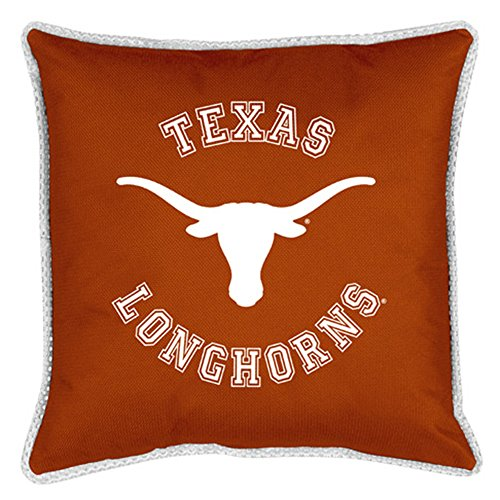 NCAA Texas Longhorns Sideline Pillow - Jersey Bed Sidelines Full