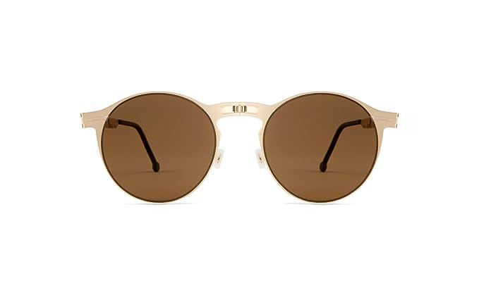 9a6208ee57 ROAV Balto    Gold   Brown Polarized Folding Sunglasses  Amazon.ca ...
