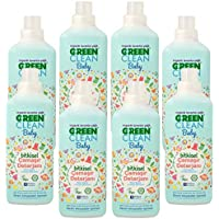 U Green Clean Baby Bitkisel Çamaşır Deterjanı 1000ml x 8 Adet