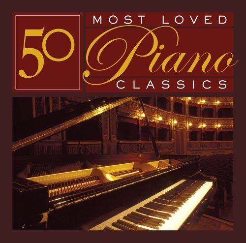 50 Most Loved Piano Classics by 50 Most Loved Piano Classics Box set edition (2005) Audio CD -