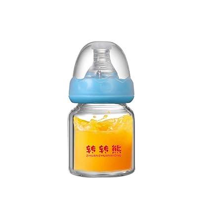 Mini botella de lactancia biberón de lactancia para bebé recién ...