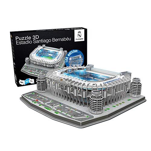 Estadio Santiago Bernabeu LED Edition (Real Madrid CF) – Nanostad – Puzzle 3D (Producto Oficial Licenciado)