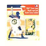 : Oakland Athletics MLB Team Logo Night Light and outlet Cover Combo