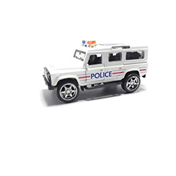 Tingoking Scale Model Police Patrol Die Cast Push Back Cars Toys For Kids Friction Cars Die Cast Cars Toys Color May Vary