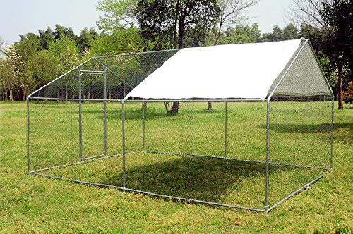 walnest Large Chicken Coop Cage Walk-in Pens Outdoor Backyard Ranch Crate Rabbit Poultry Cage Enclosure Pet Run Exercise and Playpen Pen Pet Exercise with Cover from walnest
