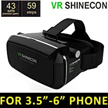 Zomtop Version 3D VR Virtual Reality Glasses Headset Suitable for Google iPhone Samsung Note LG Huawei HTC Moto 4.5-6.0 inch screen smartphone